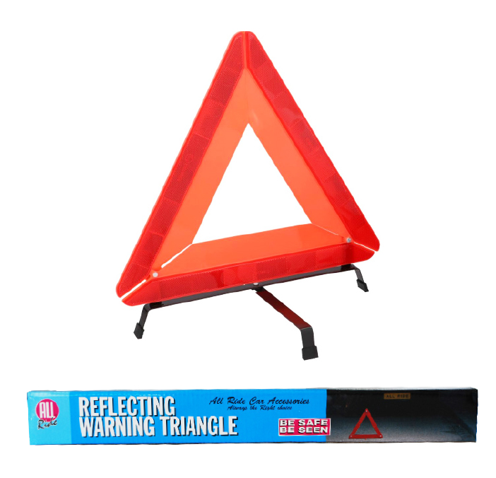 ALL RIDE WARNING TRIANGLE STD