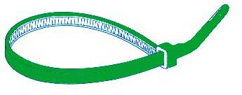 ELTECH CABLETIES 2.5x100mm GREEN