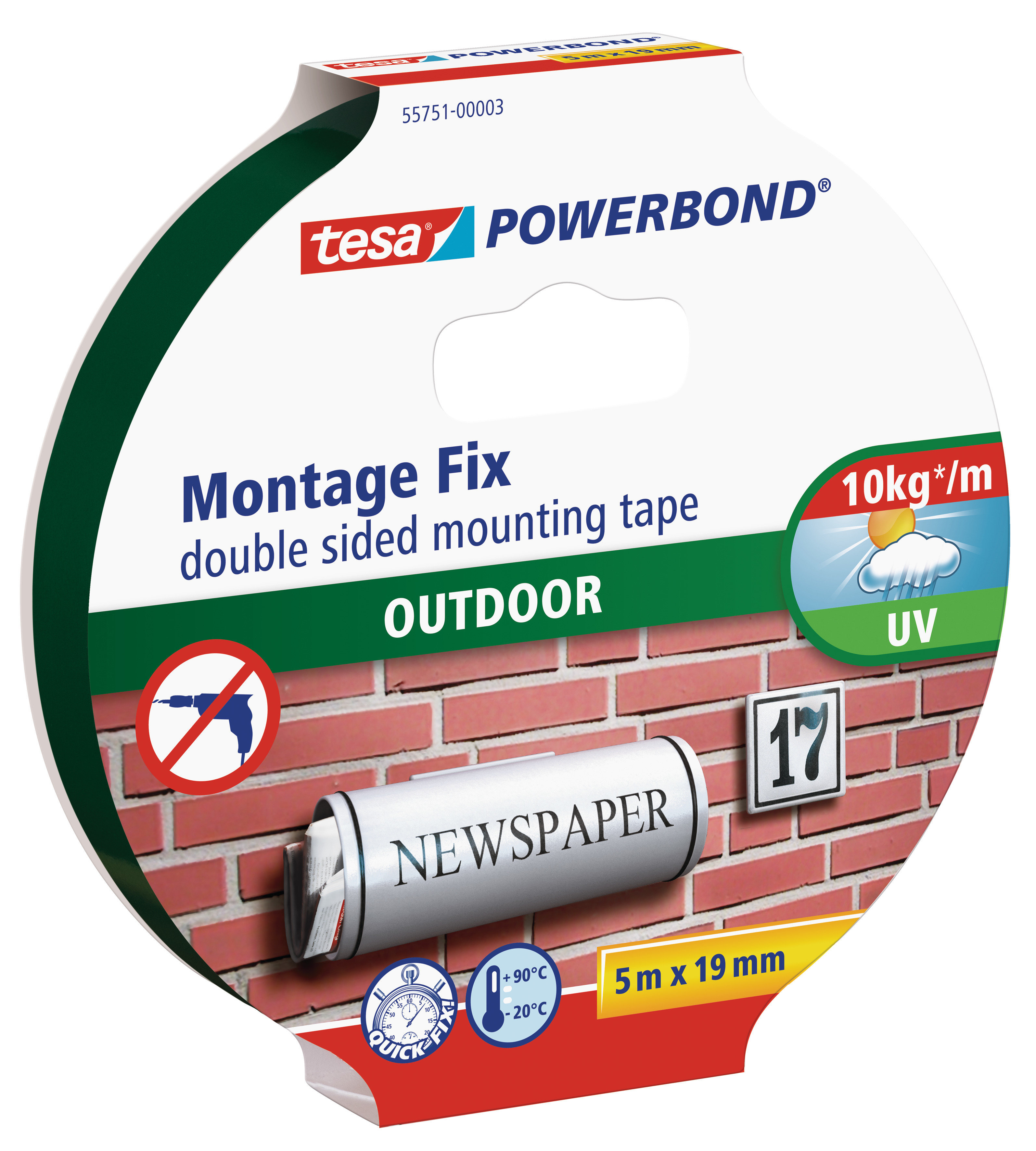 DOUBLE-FACE  TAPE 1KG OUTDOOR