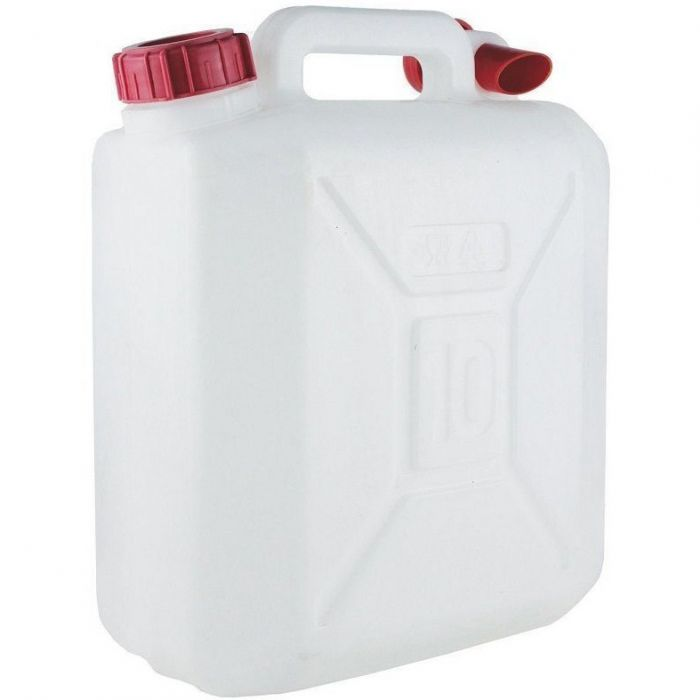 SIRSA PLASTIC JERRY CAN 10LTR