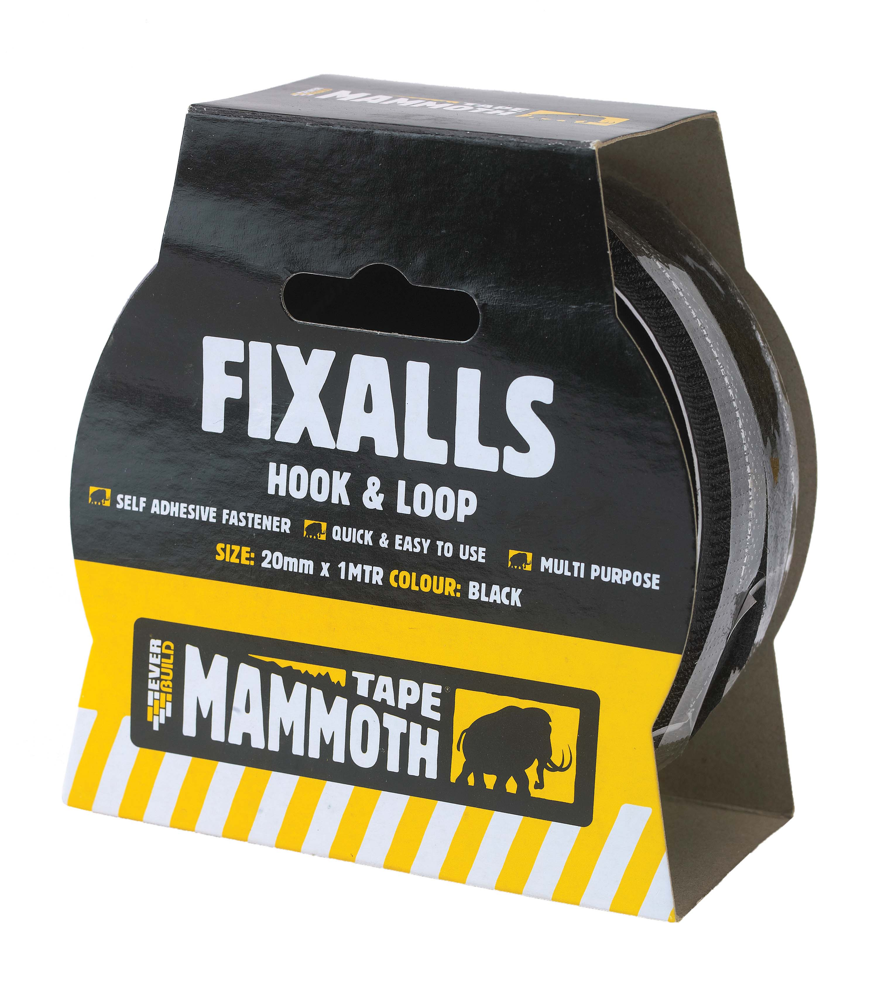 EVER BUILD KG FIXALLS TAPE WHITE 20MM