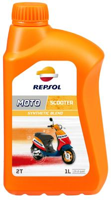 REPSOL MOTO SCOOTER 2T-SYNTHETIC ENGINE OIL 1LT