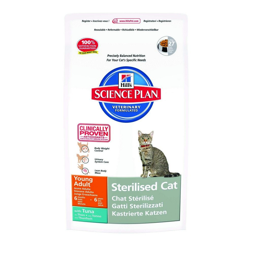 HILL'S FELINE STERILIZED YOUNG ADULT 300G TUNA