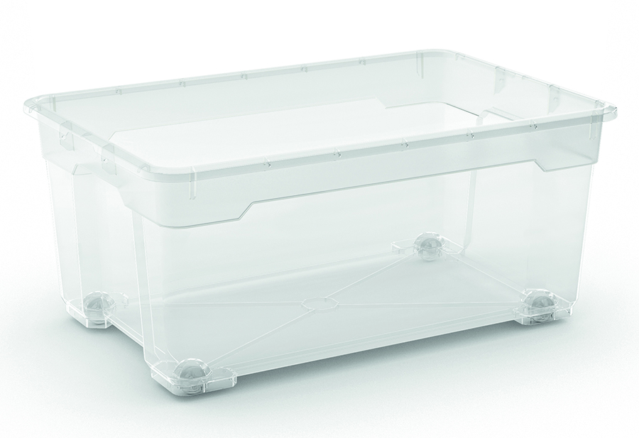 KIS R BOX L BODY 40L TRANSPARENT