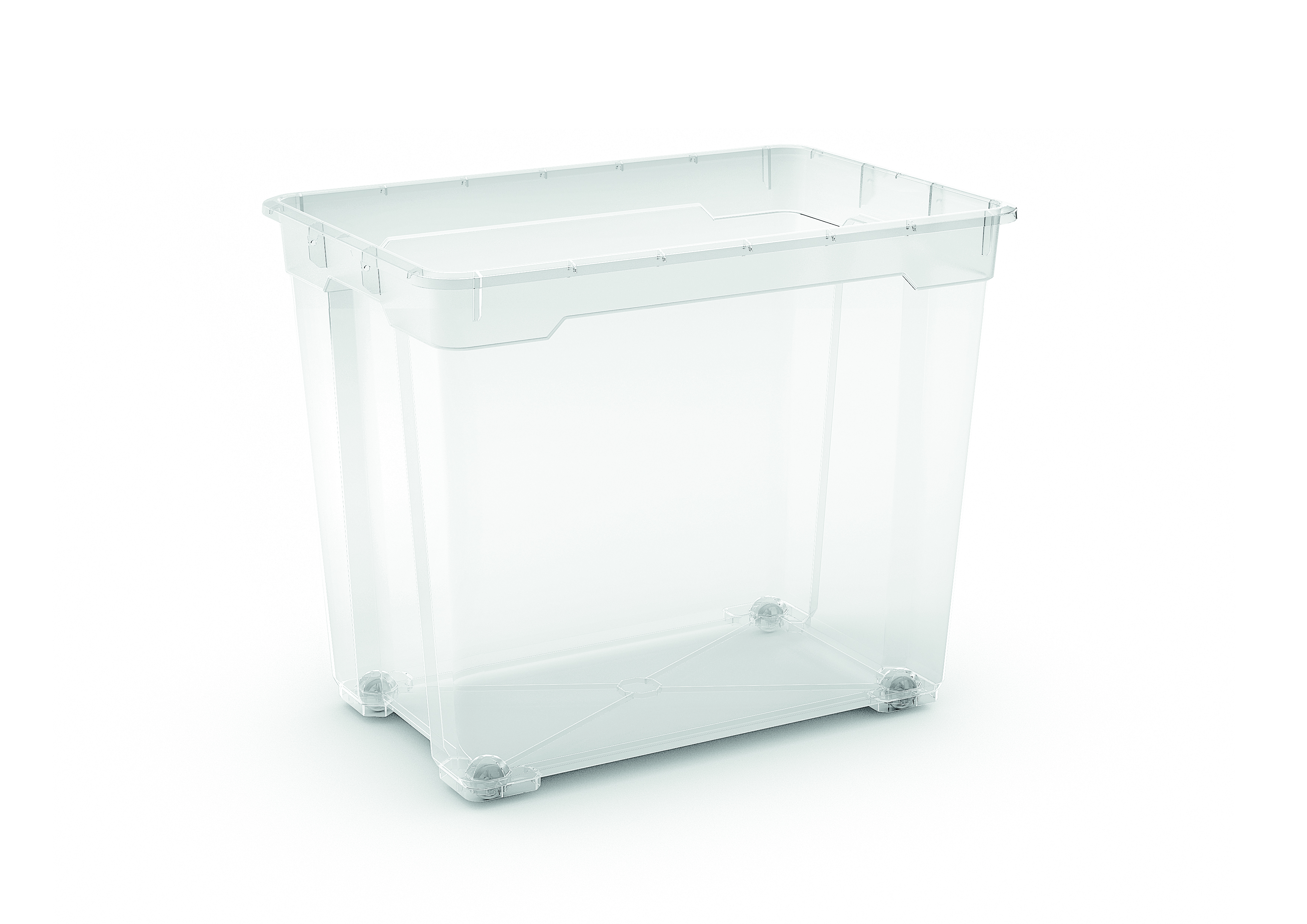 R BOX XXL BODY 80L TRANSPARENT