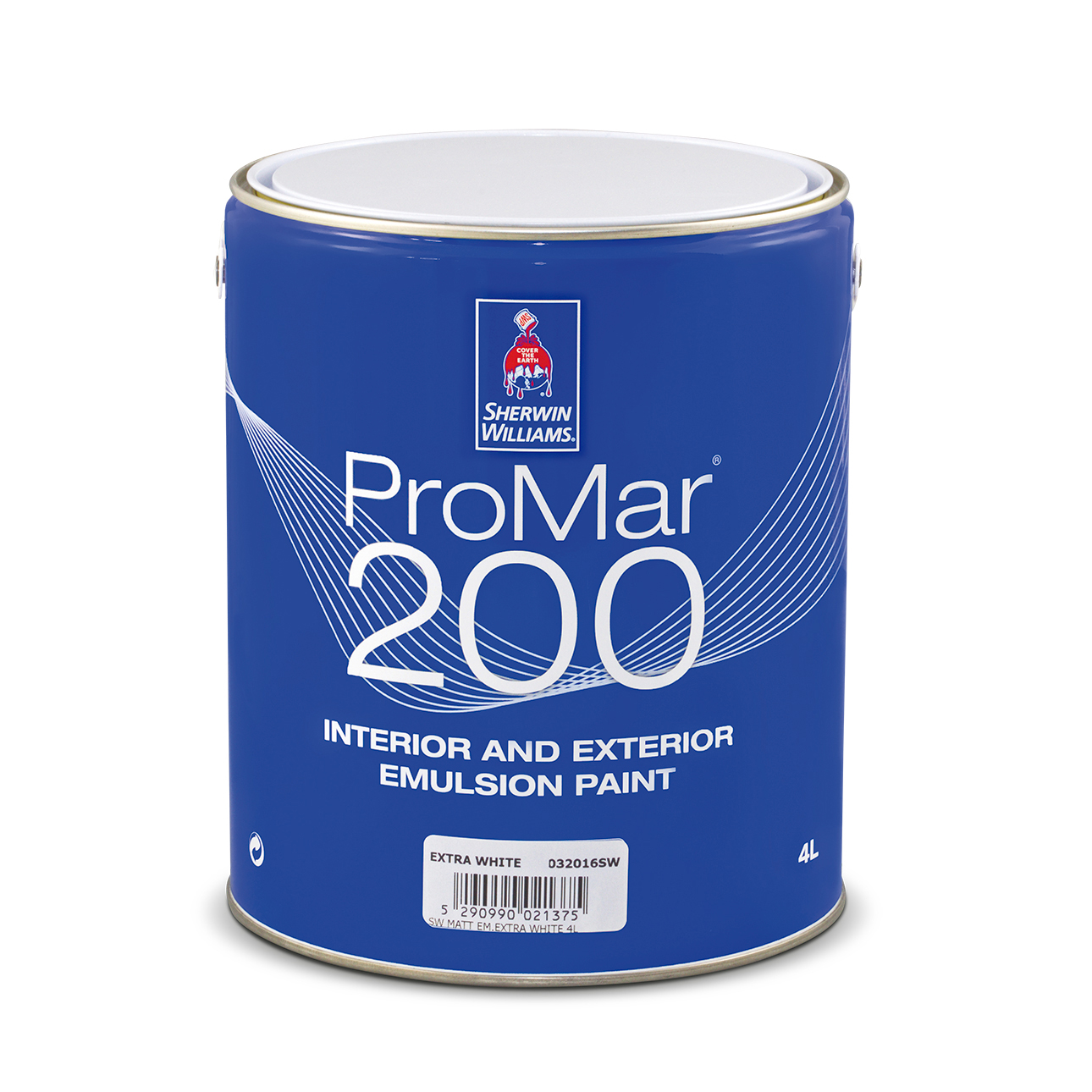 SHERWIN-WILLIAMS® PROMAR® 200 INT&EXT EMULSION SUPERWHITE 16L
