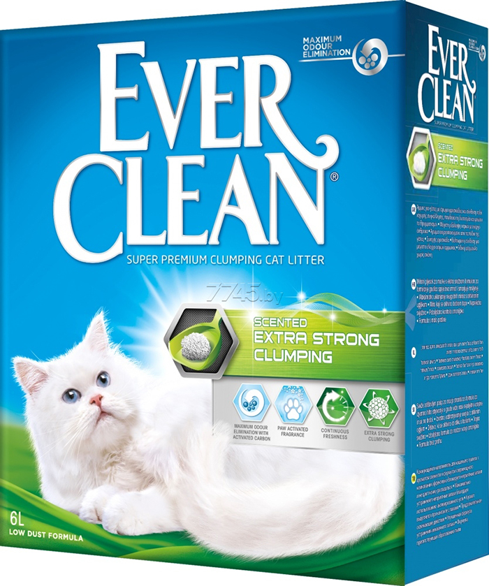 EVER CLEAN CAT LIT.EX.STRONG SCENT.6L
