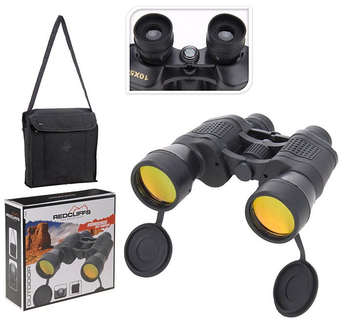 BINOCULARS 10X50MM CENTER FOKU