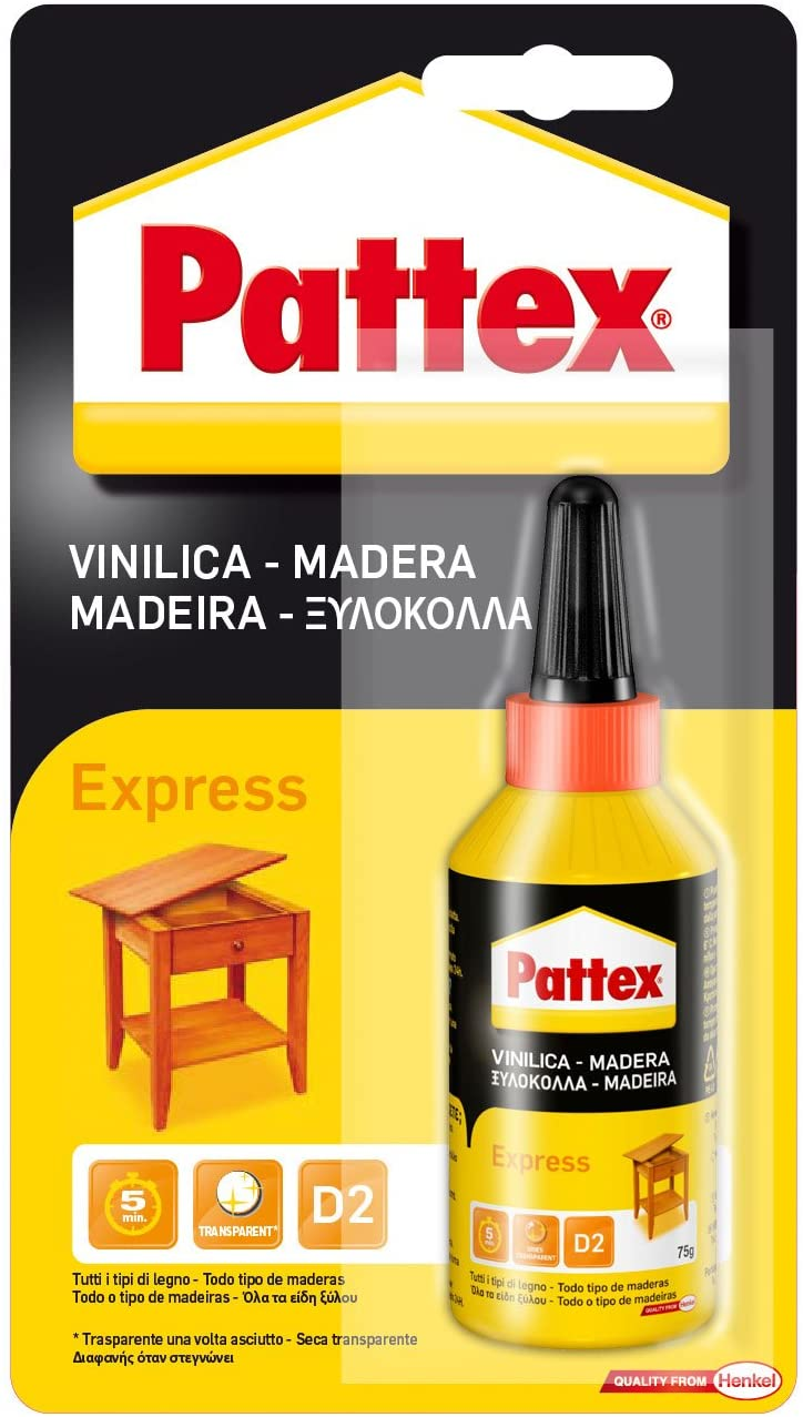 PATTEX WOODGLUES EXPRESS BLISTER 75GR