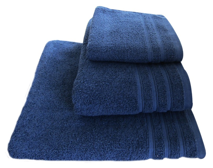 BATH TOWEL BLUE FLUFFY 85X150 50