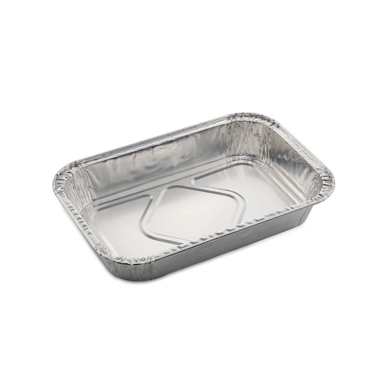 ALUMINIUM TRAY 210ML X2PCS