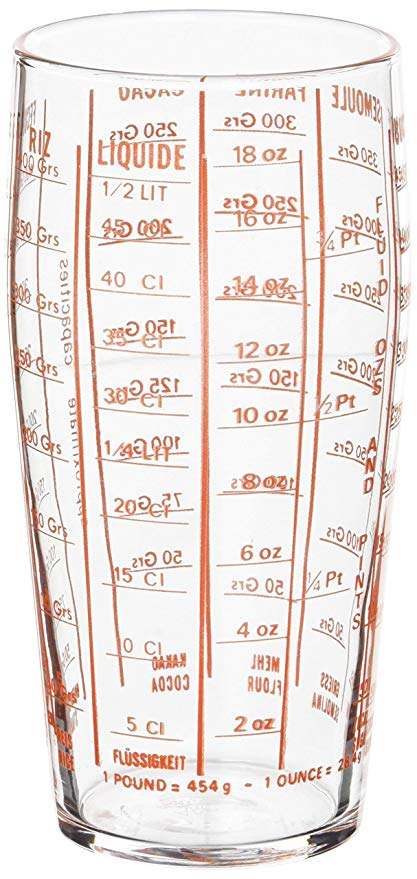 LUMINARC TEMPERED MEASURING GLASS