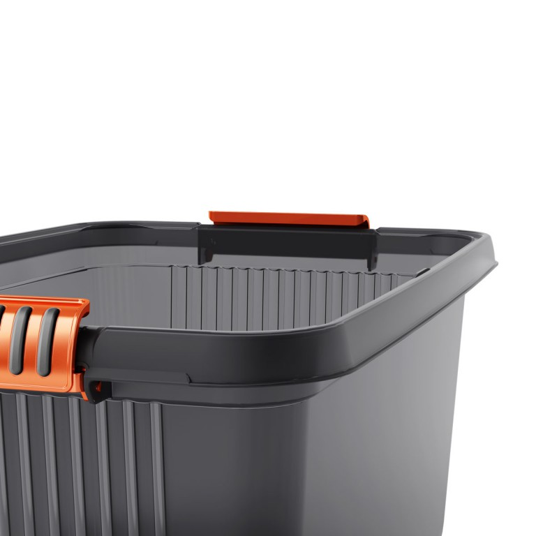 KIS KLATCH BOX XXL 69L GREY/ORANGE