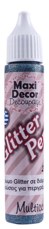 MAXI DECOR GLITTER PEN MULTICOLOR 28ML