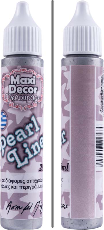 MAXI DECOR PEARL LINER SILVER PRL 28ML