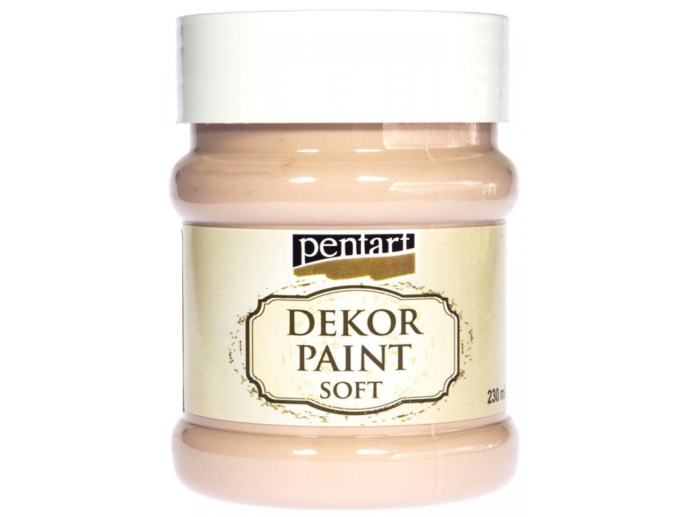 PENTART DEKOR PAINT SOFT 230ML CAPPUCCINO