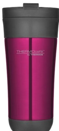 THERMOS TRAVEL MUG 450ML PINK NO HANDLE