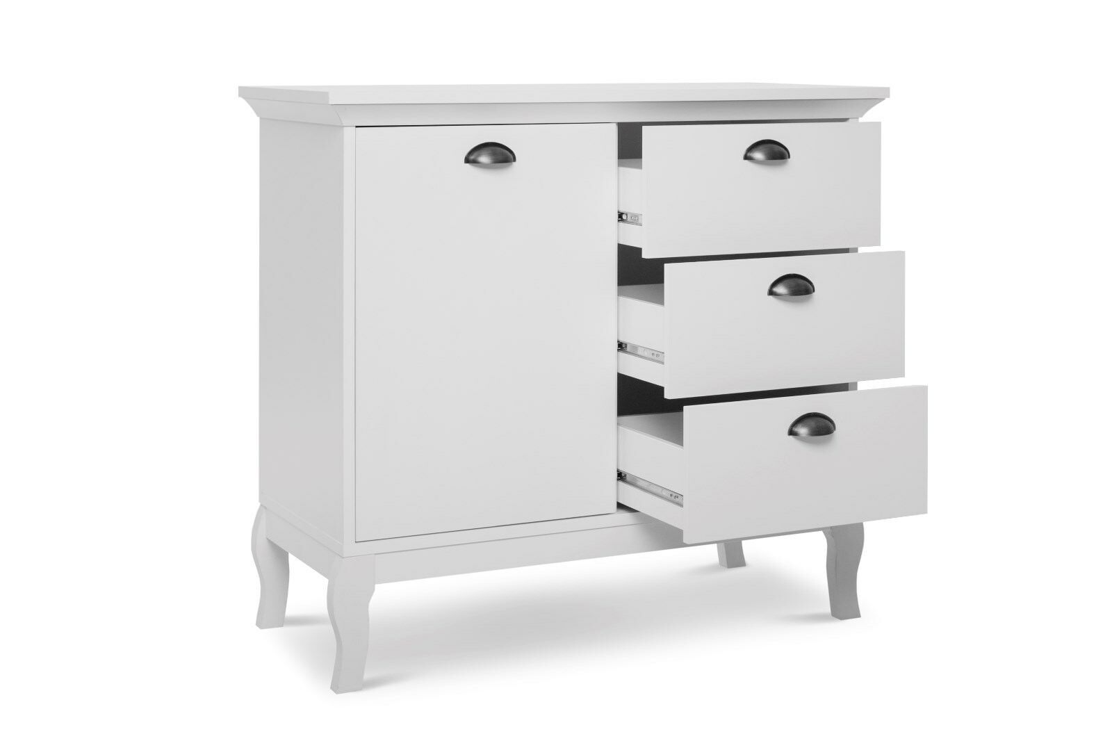 PROVENCE 4 CABINET WHITE