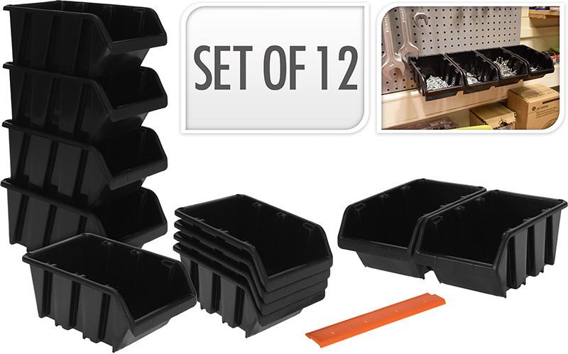 FX STORAGEBOX PP SET OF 12PCS