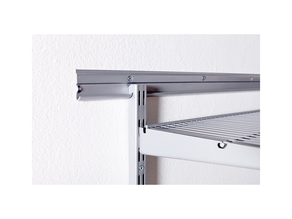 TWIN WIRE SHELF BRKT 320WHITE