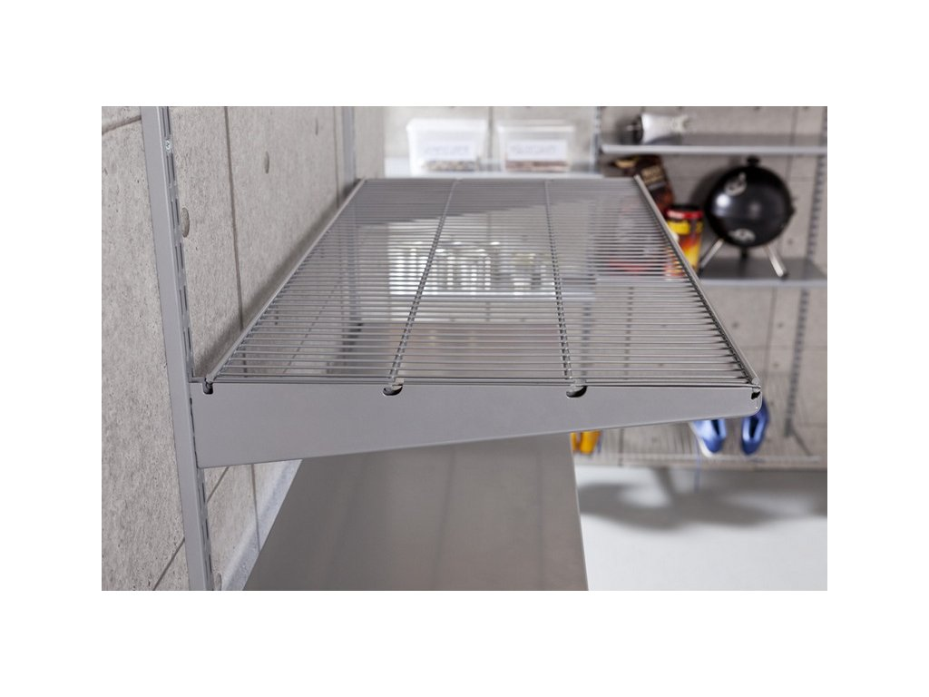 ELEMENT TWIN WIRE SHELF BRKT 320SILVER