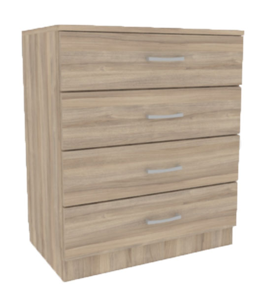 KITWOOD DRAWER UNIT 4-DRAWERS 72X70X40CM BLONDE