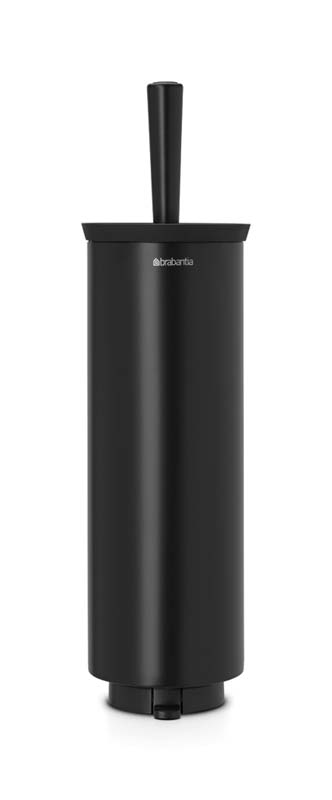 BRABANTIA TOILET BRUSH AND HOLDER, PROFILE - BLACK