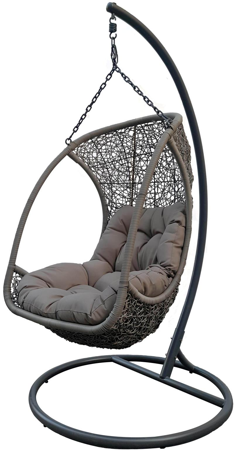 EGG HANGING CHAIR GREY