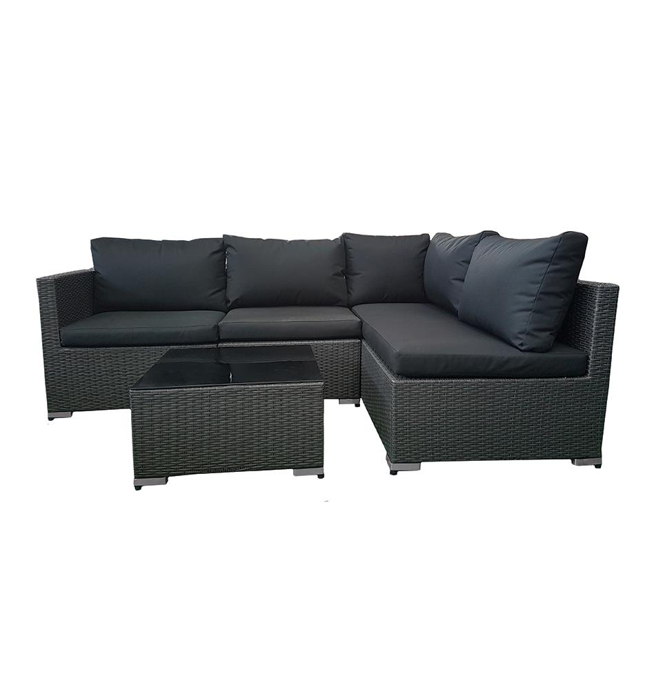 OSLO SOFA SET 4PCS GREY