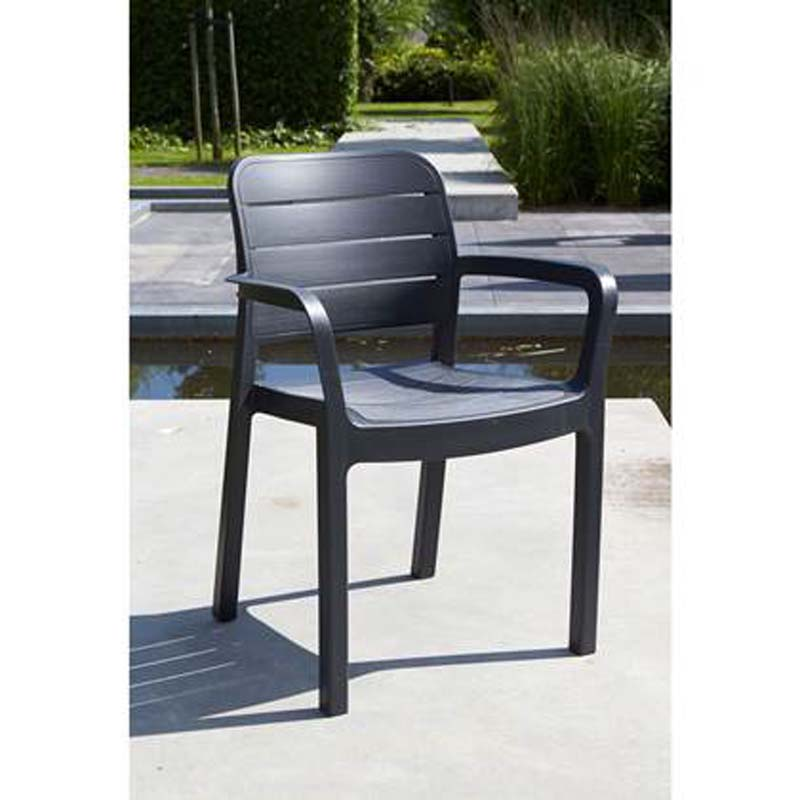 KETER TISARA CHAIR GRAPHITE