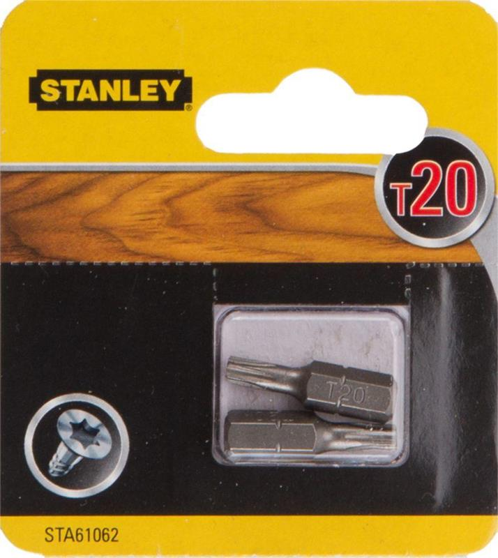 STANLEY SCREWDRIVER BITS T20