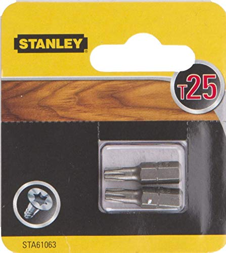 STANLEY SCREWDRIVER BITS T25
