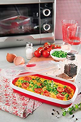 EGG POACHER & MICROWAVABLE OMELETTE MAKER 0,75LTR