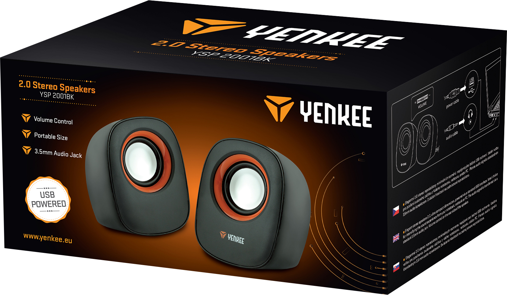 YENKEE MINI SPEAKERS 2.0