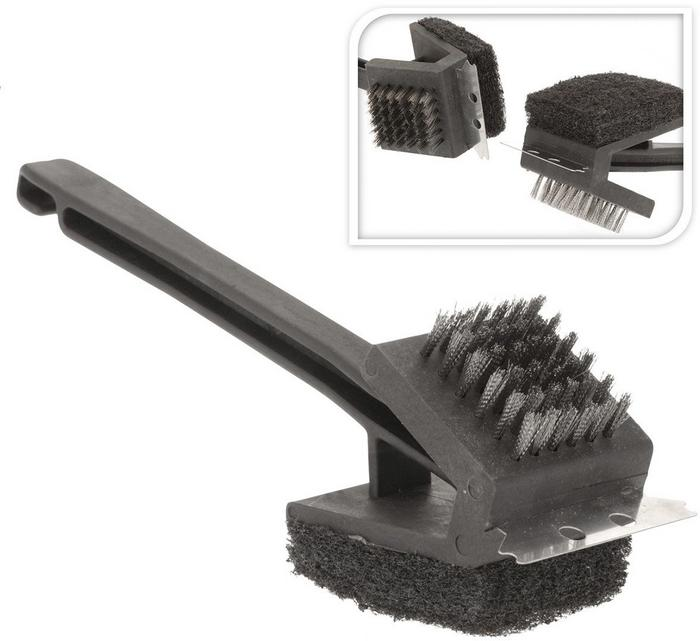 BBQ BRUSH 3 FUNCTIONS