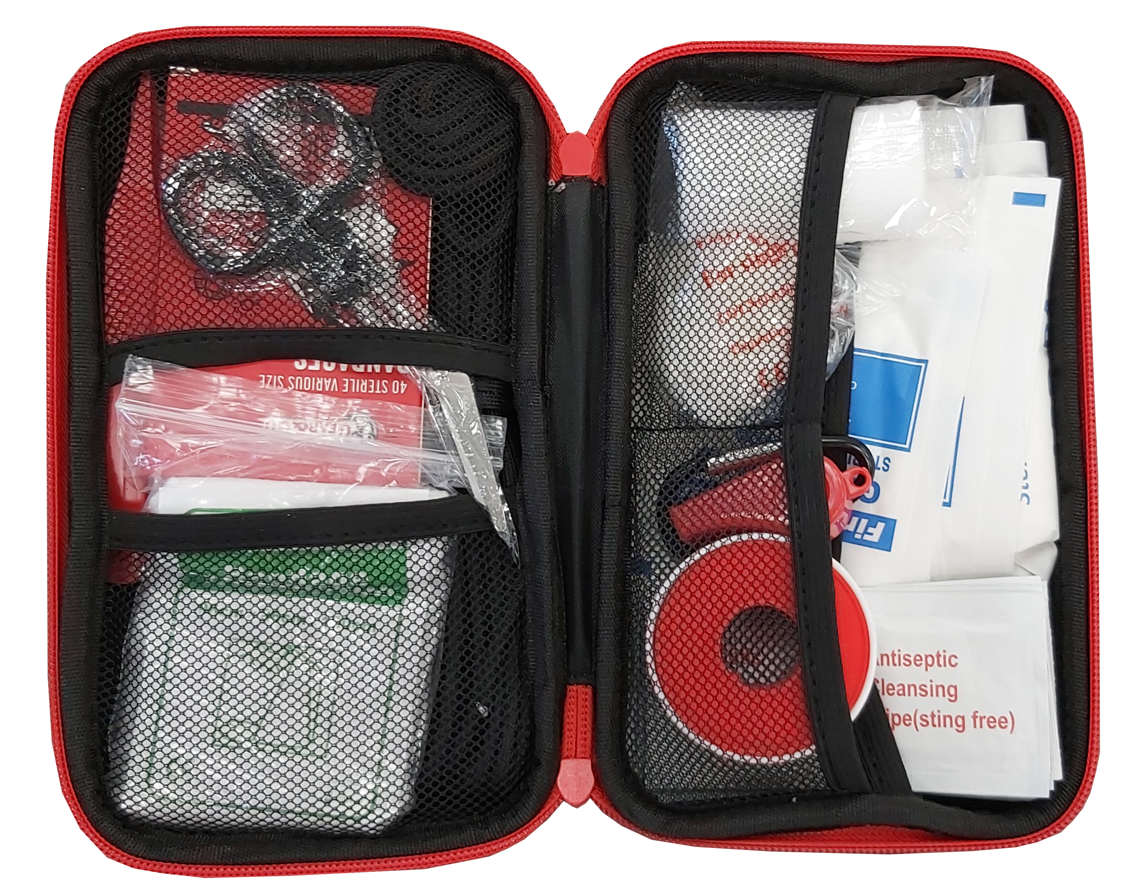 GEAR&GO FIRST AID KIT 93PCS