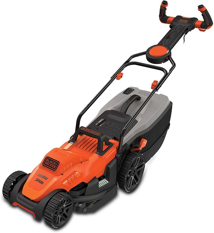 BLACK & DECKER 34CM 1400W MOWER
